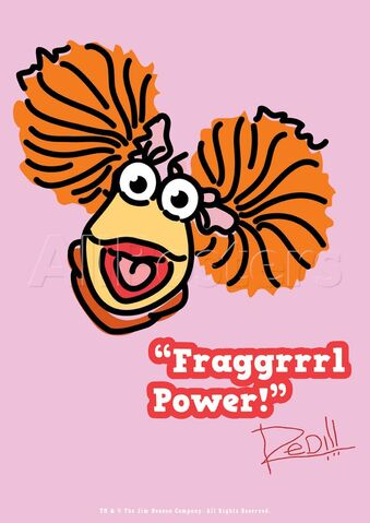File:Poster Fraggle Rock-Fraggrrrl Power!.jpg