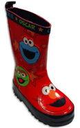 Hatley 2012 boots cookie oscar elmo