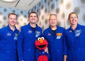 Elmo NASA People