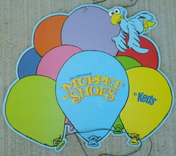 Keds muppet shoes display 1982 mobile daryl cagle 2