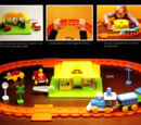 Sesame Street Railroad playset