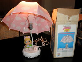 Nursery originals 1984 muppet babies piggy lamp 1
