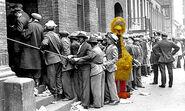 Big Bird social assistance line