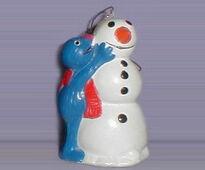 Snowman-grover-ornament