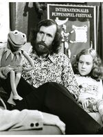 Center for Puppetry Arts - Opening 1978 - Kermit, Jim & Heather Henson