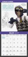 Muppets 2017 calendar 4