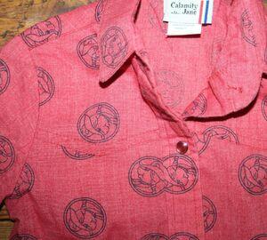 Billy the kid calamity jane 1981 piggy shirt 2