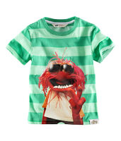 H&M-Animal-GreenStripedShirt-(2012)