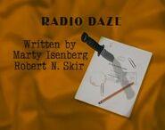 Episode 106: Radio Daze