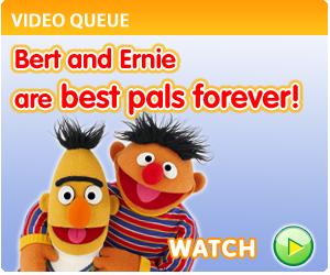 Bert and Ernie -Sesamtreet.org