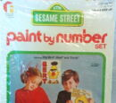 Sesame Street Paint By Number kits (Friends)