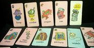 Milton bradley 1976 oscar the grouch card game 3