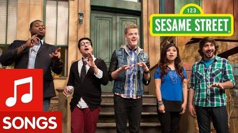 Sesame Street Pentatonix Counts (& Sings) to Five