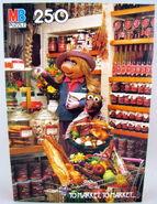 Milton bradley 1982 muppet puzzle to market