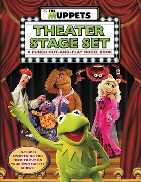 The Muppets 2011 - Theater Stage Set