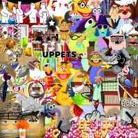 Muppetspack-stickers