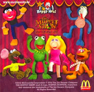 McDonald'sMuppetShow25YearsGermanHappyMealSet