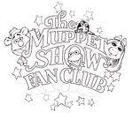 Muppet show fan club logo