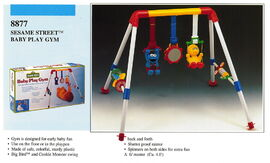 Illco 1992 baby toys baby play gym
