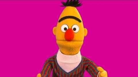 Sesame Street Bert on YouTube