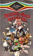 Great muppet caper argentina vhs