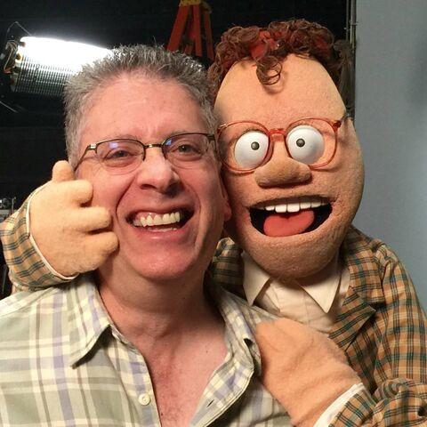 File:Bill Prady and Chip.jpg