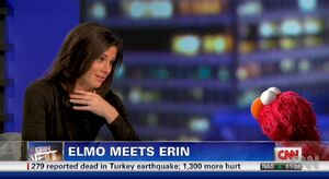 Elmo meets Erin
