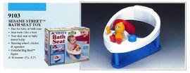 Illco 1992 baby toys activity bath seat
