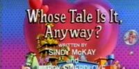 Episode 713: Whose Tale Is It, Anyway?