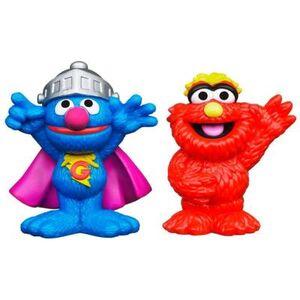 HasbroPlayskool-SesameStreet-Figures-SuperGrover&Murray