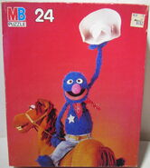 Milton bradley sesame puzzle grover horse