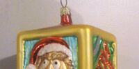 Muppet Christmas ornaments (Christopher Radko)