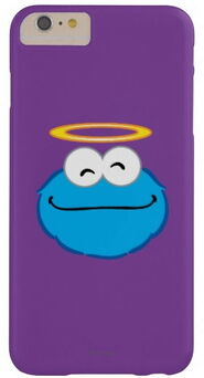 Zazzle cookie smiling face with halo