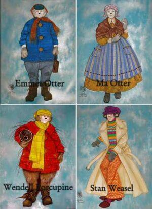 Emmet Otter Musical - designs