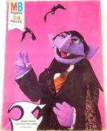 Milton bradley 1977 count puzzle