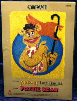 Caron latch hook kit fozzie flag