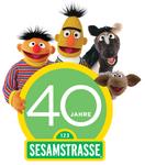 Sesamstrasse-40Jahre-Logo