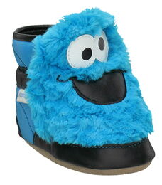 Step 1 robeez soft soles 3d cookie monster 2011