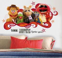 Muppet collage decals