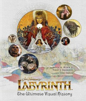 Labyrinth The Ultimate Visual History cover