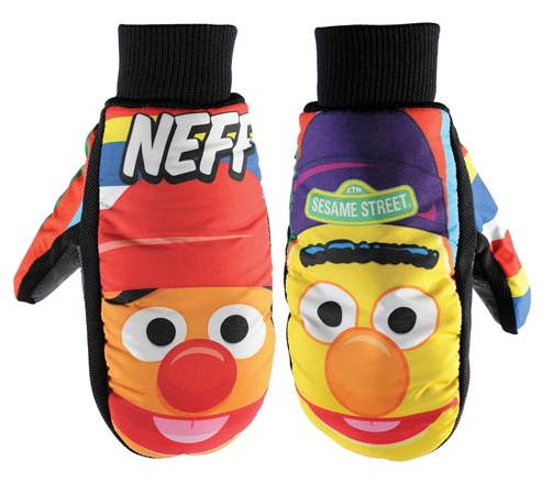 File:Neff headwear 2012 character mitt bert and ernie.jpg