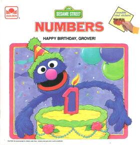 Numbers birthday grover