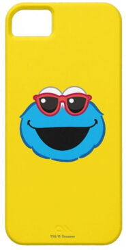 Zazzle cookie smiling face with sunglasses