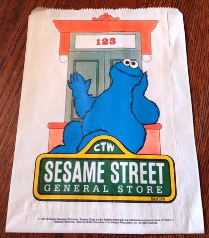 File:Sesame street general store 1990 paper bag 1.jpg