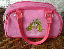 2008 disney world piggy bag