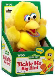 Tickle me big bird
