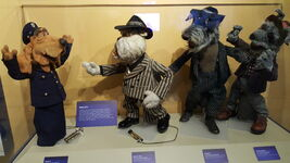 Center for Puppetry Arts - Dog City Characters