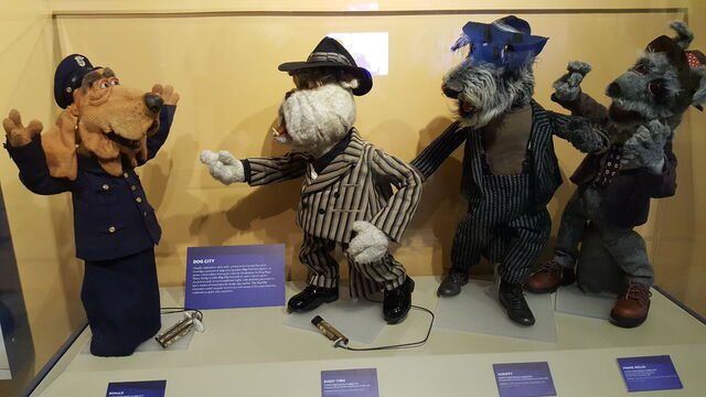 File:Center for Puppetry Arts - Dog City Characters.jpg