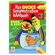 DasDickeSesamstrassenMalbuch
