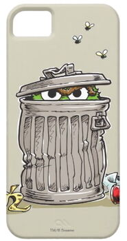 Zazzle vintage oscar in trash can